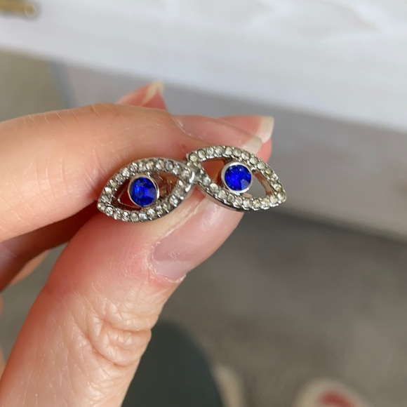 Kate Spade Evil Eye Earrings